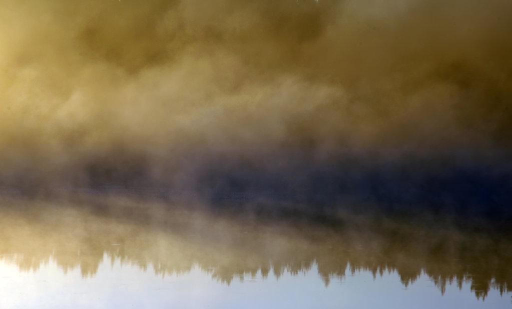 Hommikune udu Saaremaal
